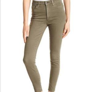 Joe's The Skinny Military Green Jeans Size 28